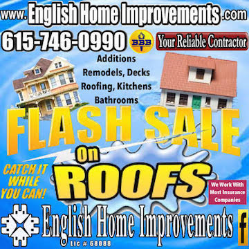 Roofing Sale in Tennessee