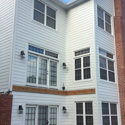 Artic White James hardie siding TN